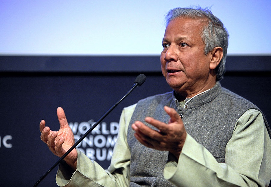 Muhammad Yunus en el World Economic Forum